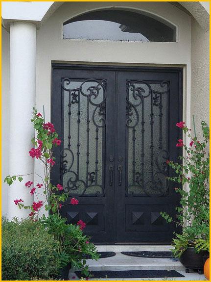Iron Entry Door San Mateo Ca