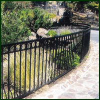 Wrought Iron Fence San Mateo