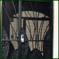 Wrought Iron Door San Mateo